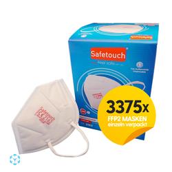 Safetouch - FFP2 Masken Made in Turkei - 5 Karton-Einzeln verpackt