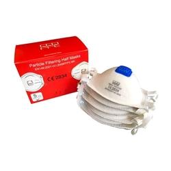 QQQ - FFP3 Masken Atemschutzhalbmaske mit Ausatemventil von QQQ 9980V